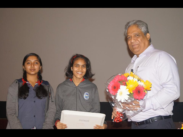The students of KV ASC share their experience about the motivational talk they had on January 3, 2015. This event was held in the school campus and was organised by the KVASC Bangalore Alumni Association.  Read more at: http://www.careerindia.com/news/we-are-the-future-of-our-country-say-kv-asc-students-013530.html