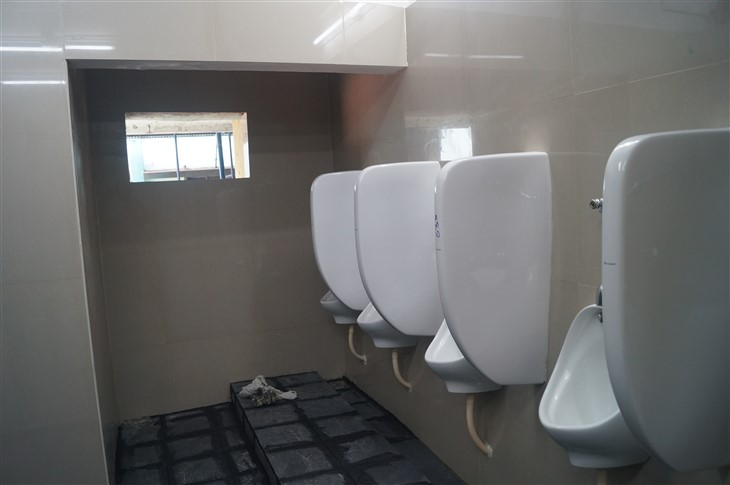 Urinals in Boy's toilet