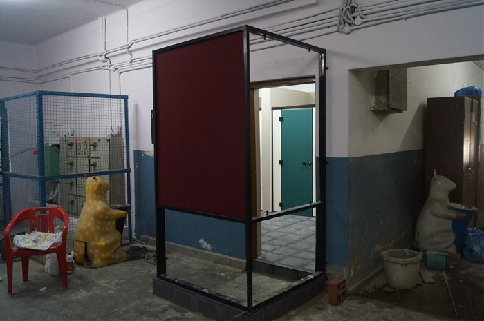 Entrance of girl's toilet
