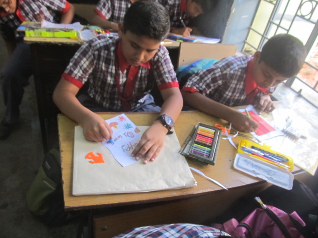 Drawing competition on Children's Day 2017